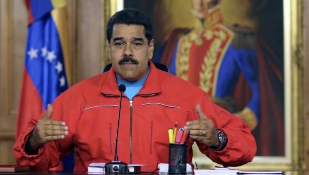 Präsident Maduro räumte die Niederlage ein. (Bild: APA/AFP/PRESIDENCIA)