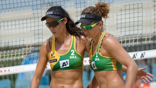 Die brasilianische Paarung Larissa/Talita (Bild: GEPA)
