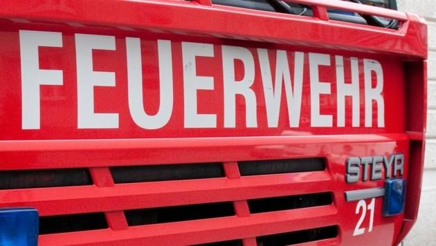 Drei Feuerwehren standen mit 58 Einsatzkräften im Einsatz (Bild: Andreas Graf (Symbolbild))