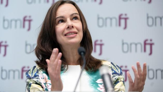 Sophie Karmasin (ÖVP) war von 2013 bis 2017 ÖVP-Familienministerin. (Bild: APA/GEORG HOCHMUTH)