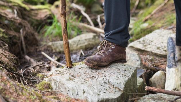 Die Wanderer fanden nicht mehr zurück (Symbolbild) (Bild: thinkstockphotos.de (Symbolbild))