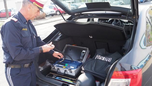 Das Drogenvortestgerät hat sich in Oberösterreich bewährt (Bild: Thomas Leitner)