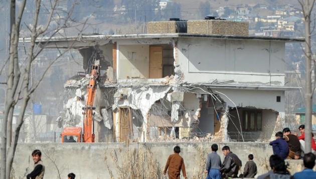 Das Bin-Laden-Versteck in Abbottabad ist mittlerweile abgerissen worden. (Bild: AFP)