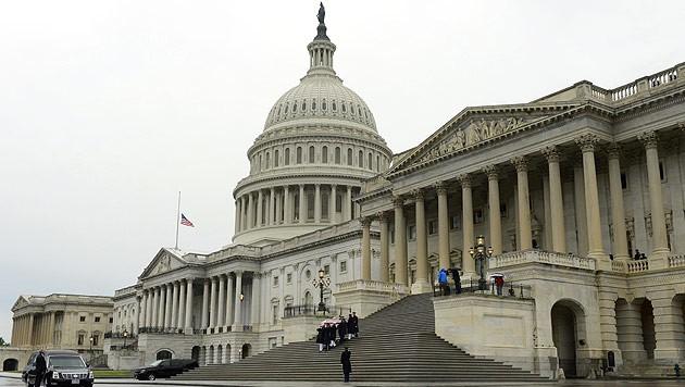 Der US-Senat in Washington (Bild: EPA)