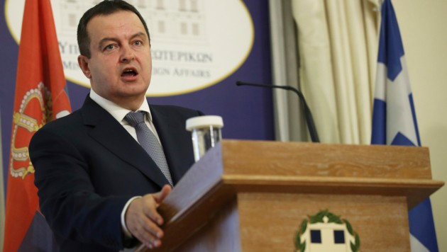 Serbiens Außenminister Ivica Dacic (Bild: The Associated Press)