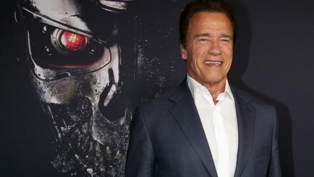 """Arnold Schwarzenegger bei der """"Genisys""""-Premiere (Bild: AP)"""
