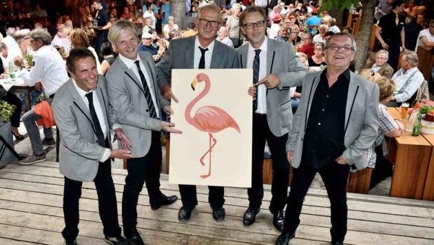 14) Die Flamingos servieren im Linzer Stadtbräu Josef eine ausgelassene Portion Rock 'n' Roll. (Bild: Markus Wenzel)
