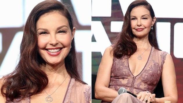 Ashley Judd schockt ihre Fans mit ihrem verbotoxten Gesicht. (Bild: AFP)