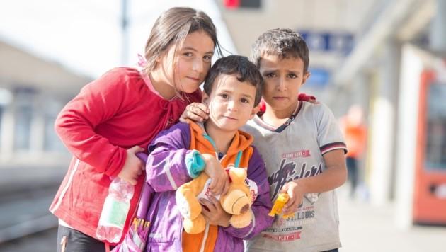 Sie sind alleine und brauchen Hilfe: Die Suche nach Unterkünften für Flüchtlingskinder geht weiter (Bild: fotokerschi e.U. Werner Kerschbaummayr, Weilling 12, 4490 St. Fl)