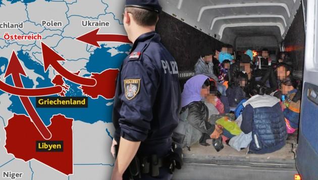 "(Bild: Klemens Groh, Polizei, ""Krone""-Grafik, krone.at-Grafik)"