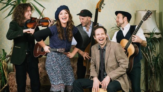 Sabine Stieger ist mit Band auf der Herberstein-Bühne in der Altstadt dabei. (Bild: Florian Voggeneder)