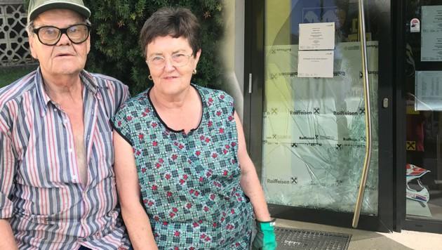 Theresia und Heinz W. wurden von den Einbrechern geweckt.