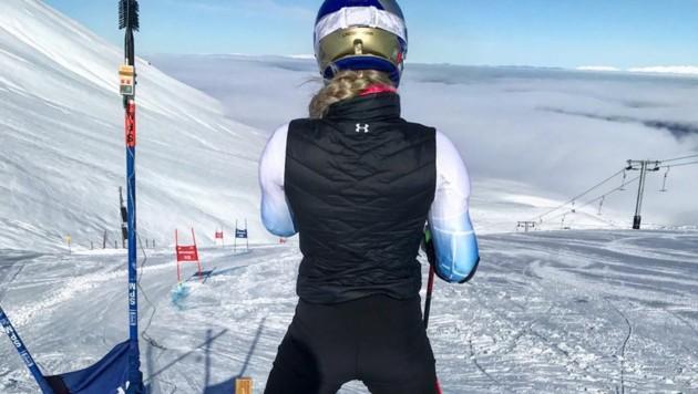 Lindsey Vonn bereitet sich in Neuseeland auf die Skisaison vor. (Bild: instagram.com)