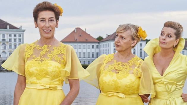 Adele Neuhauser, Karin Thaler und Johanna Bittenbinder (Bild: ZDF/Marco Nagel)