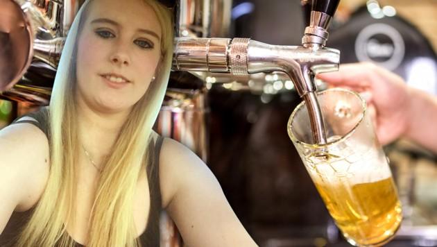 Die 19-Jährige sucht jetzt ihre Retter. (Bild: facebook.com, thinkstockphotos.de, krone.at-Grafik)