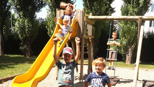 Im Klinikum Klagenfurt werden 305 Buben und Mädchen das ganze Jahr über betreut (Bild: Christian Rosenzopf)