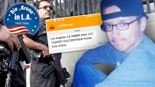 (Bild: LA County Sheriffs Departement, AFP, Paul Tikal)
