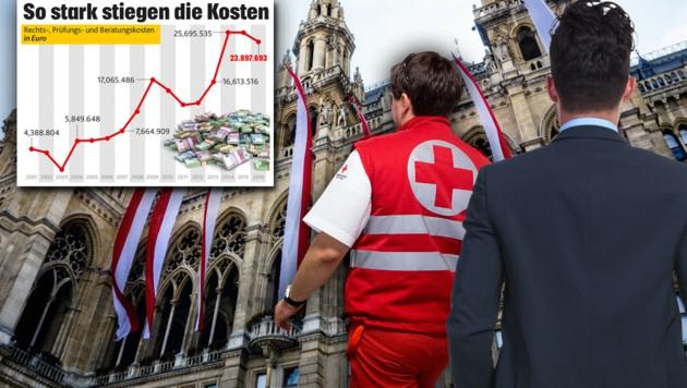 """(Bild: """"Krone"""", APA/G. HOCHMUTH, thinkstockphotos.de, krone.at-Grafik)"""