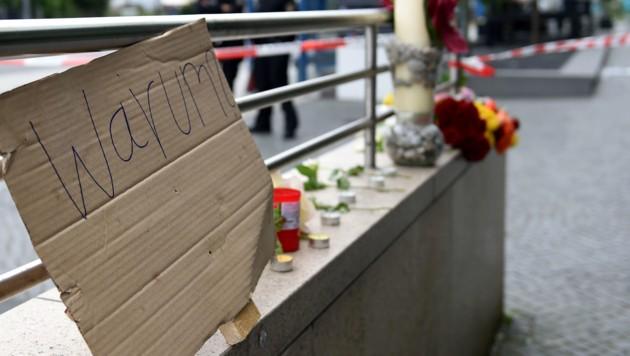 Trauer um die Opfer des Amoklaufs