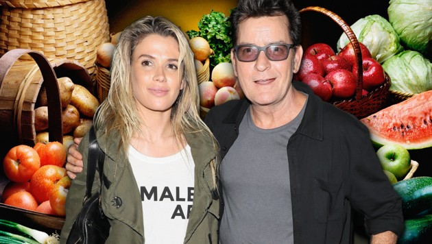Charlie Sheen mit Freundin Julia Stambler (Bild: www.pps.at, thinkstockphotos.de)