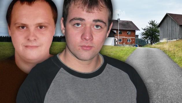 """Andreas Leitner (links) und Maximilian Baumgartner werden seit 2015 vermisst. (Bild: Markus Wenzel, """"Krone"""", krone.at-Grafik)"""