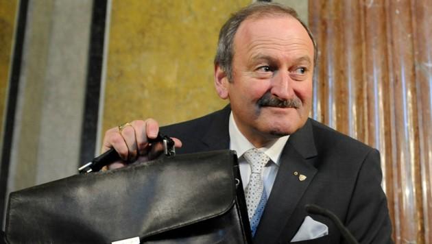 Hubert Gorbach (Bild: APA/Helmut Fohringer)