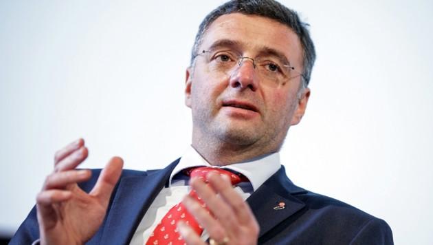 Jörg Leichtfried (SPÖ) (Bild: APA/GEORG HOCHMUTH)