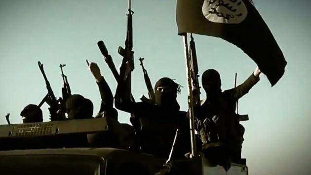 IS-Kämpfer (Bild: twitter.com/EUwatch)