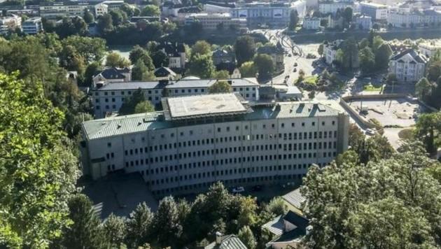 Übersiedelt ins Landesklinikum: Das Salzburger Unfallspital der AUVA am Rehrlplatz. (Bild: Markus Tschepp)
