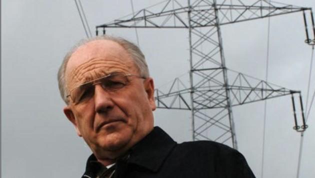 Bürgermeister Strasser ist zuversichtlich, dass Argumente gegen die Freileitung Gehör finden. (Bild: Wolfgang Weber)