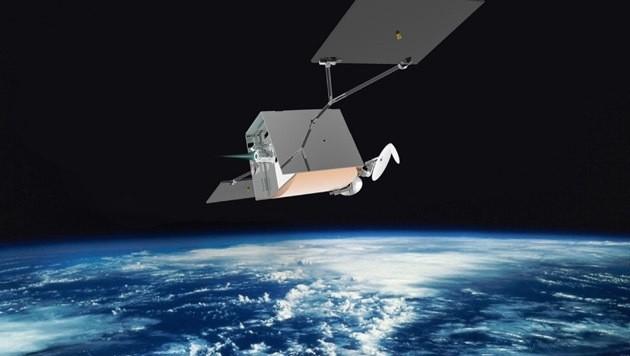 Illustration eines OneWeb-Satelliten (Bild: Oneweb)