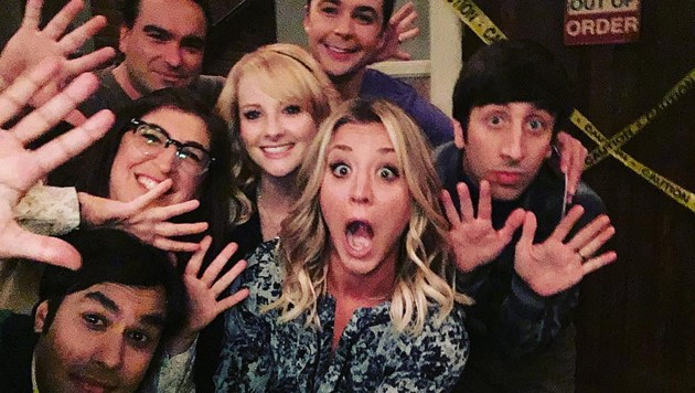 "Der Cast von ""The Big Bang Theory"" (Bild: instagram.com/normancook)"