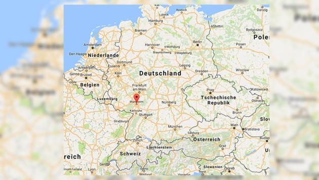 Ludwigshafen ist die Schwesterstadt von Mannheim. (Bild: maps.google.com)