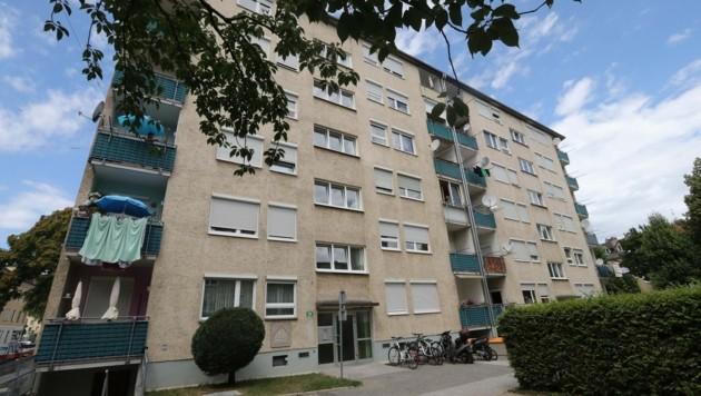 Der letzte Tatort in der Hauseggerstraße 50 (Bild: Juergen Radspieler)