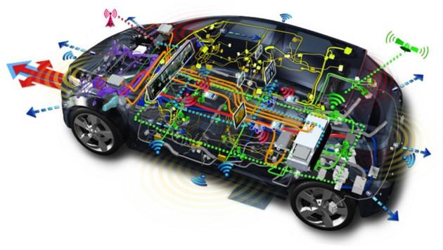 Die Datenströme im Auto nehmen zu. (Bild: Delphi)