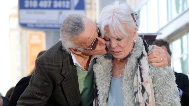 Stan Lee heiratete Joan bereits im Jahr 1947. (Bild: AP)