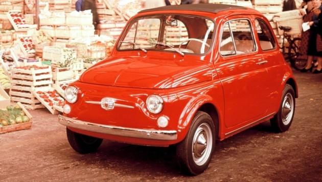 Der Fiat 500 von 1965 (Bild: Fiat)