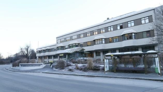 Das Landeskrankenhaus in Rottenmann. (Bild: Jürgen Radspieler)