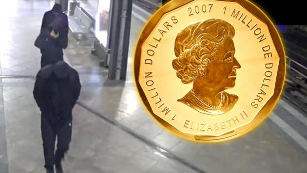 100 Kilo Münze Gestohlen Video Zeigt Jetzt Täter Kroneat