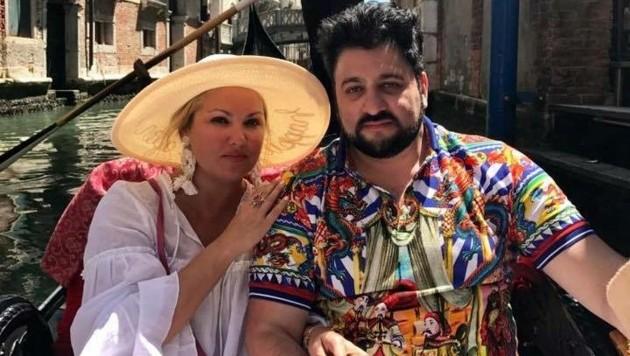 Anna Netrebko und Yusif Eyvazov in Venedig (Bild: facebook.com/annanetrebko)