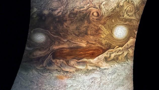 (Bild: NASA/JPL-Caltech/SwRI/MSSS/Jason Major)