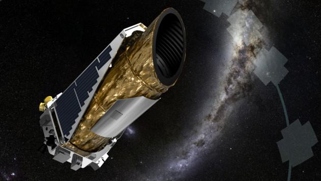 "Das Weltraumteleskop ""Kepler"" (Bild: NASA)"