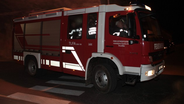 Die Feuerwehren Nötsch und Feistritz/Gail standen mit 22 Mann im Einsatz (Bild: Sepp Pail)