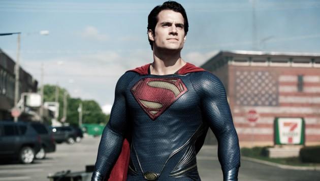Henry Cavill in der Rolle des Superman (Bild: AP)
