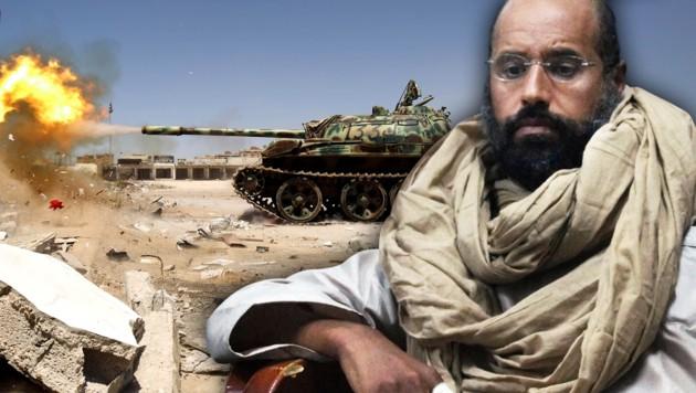 Gadafi-Sohn Saif will Präsident in Libyen werden