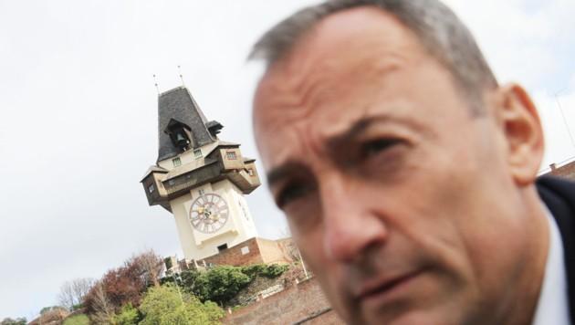 Bruder des blauen Grazer Vize-Bürgermeisters Eustacchio geht in Aufsichtsräte im Kulturbereich. (Bild: Kronenzeitung)
