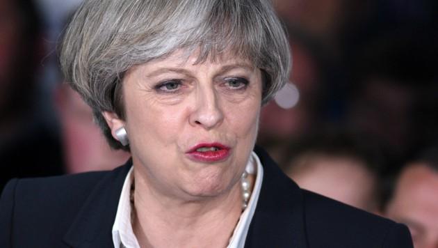 Theresa May (Bild: AFP/Oli Scarff)