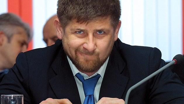 Tschetscheniens Präsident Ramsan Kadyrow (Bild: EPA)
