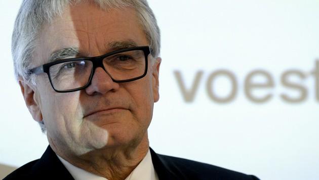 Wolfgang Eder, Noch-Vorstandschef der voestalpine (Bild: APA/Hans Klaus Techt)