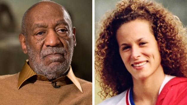Bill Cosby und sein Opfer Andrea Constand (Bild: AP)